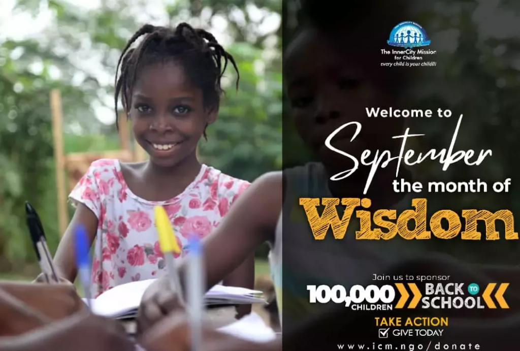 Back to school campaign with Chris Oyakhilome Foundation International